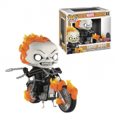 Funko Pop Marvel Classic Ghost Rider with Bike PX